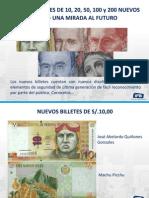 Billetes Naciona Del Perul 2011