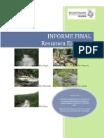 Caudal Ecologico Informe Final Resumen