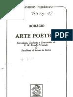 A Arte Poetica de HORACIO - Parte I