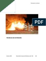 TECNICAS DE EXTINCIÓN