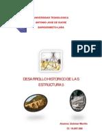 Desarrollo Historico de Las Estructuras(Dulimar Morillo)