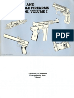 Automatic and Concealable Firearms Design Book Vol I