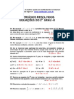 Matemática - Exercícios Resolvidos Equação 2.º Grau II