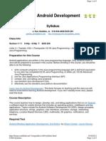 CS86 Syllabus