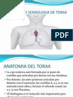 Anatomia y Semiologia de Torax