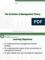 The Evolution of Management Theory 9-18-06 Upload