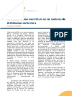 Carrefour Cómo contribuir en las cadenas de distribución inclusivas
