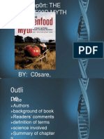 The Frankenfood Myth Book Report