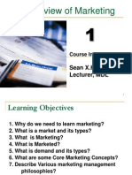 1 Overview of Marketing