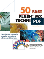 50 Fast Flash MX Techniques