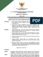 Kepmenakertrans No 311 Th 2011 Ttg Keanggotaan Dewan Keselamatan Dan Kesehatan Kerja Nasional (Dk3n) Dan Keanggotaan Sekretariat Dk3n Periode 2012-2016