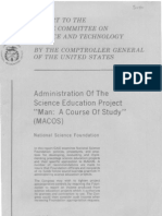 Report to the House Committee on Science and Technology