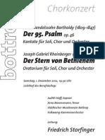 Programm Städtischer Musikverein Bottrop