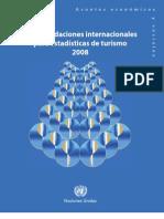 Recomendaciones Internacionales para Estadísticas del Turismo OMT
