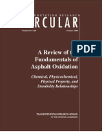 Circular-A Review of the Fundamentals of Asphalt Oxidation