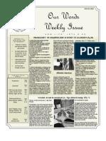 Newsletter Volume 4 Issue 42