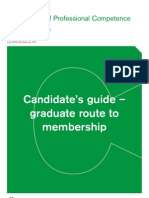RICS APC Graduate Routes 1 and 2 Candidate Guidance July 2011 - Non UK Applicants