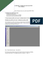 MikroTik - Konfiguracja Szyfrowania WEP WPA