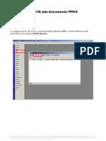 MikroTik Jako Koncentrator PPPoE v1