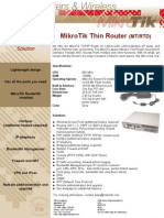 Mikrotik Router