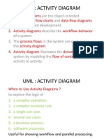 UML - Activity Diagrams