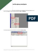 MikroTik wykresy interfejsów