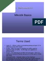 Mikrotik Basic GregSowell