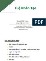 Logic va Suy dien trong TTNT