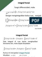 Integral Parsial