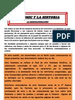 El Comic y La Historia.descolonizacion