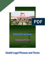 Rohitashw Kajla's Legal Glossary