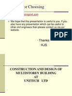 Cep-construction and Design of Multistorey Building by Abhimanyu Parida