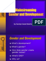 CIDA~Gender & Development