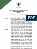 Kmk No. 1224 Ttg Pedoman Klasifikasi Dan Kodifikasi Jenis Pemeriksaan, Spesimen, Metode Pemeriksa