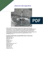 Pencemaran Air Oleh Logam Berat