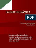 Noções de Farmacodinâmica