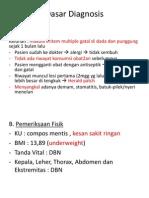 Dasar Diagnosis Pitiriasis Rosea