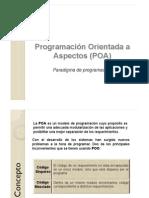 ProgramaciónOrientadaaAspectosPOA.ppt
