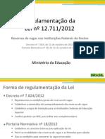 Academica Apresentacao Regulamentacao Cotas
