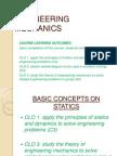 c 1 Basic Concepts on Statics111