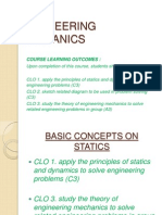 c 1 Basic Concepts on Statics111
