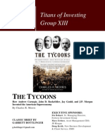 The Tycoons--Titans of Investing Brief