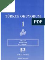 Turkce okuyorum 1