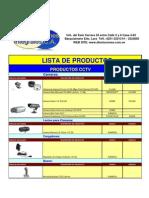 Lista de Productos en Existencia