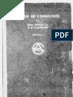 La voie de l'occultiste, par Annie Besant et C. W. Leadbeater