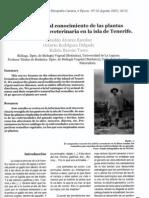 Contribución al conocimiento de las plantas empleadas en etnoveterinaria en la isla de Tenerife. El Pajar. Cuaderno de etnografía canaria 24_ 45-52
