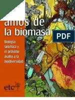 Los nuevos amos de la biomasa, biología