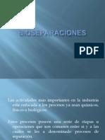 Bioseparaciones