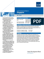 Asean Development Bank & Singapore Fact Sheet