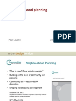 Neighbourhood planning by Urban Design London